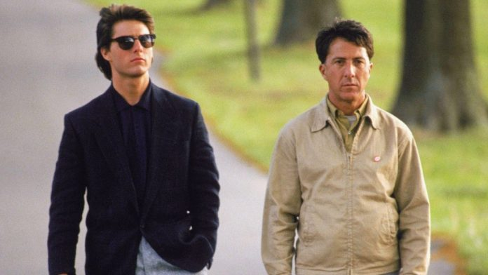 Dustin Haffman, Tom Cruise, Rain Man, filmbibo
