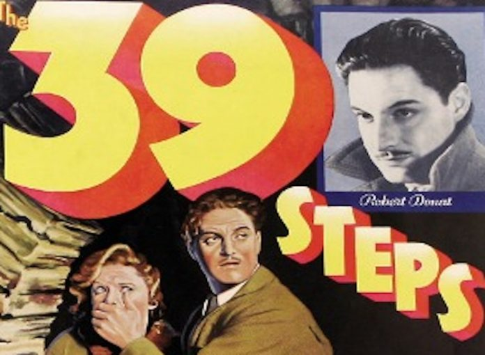 The 39 Steps 1935, filmbibo