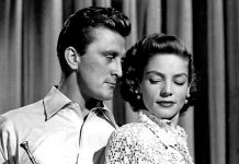 Kirk Douglas, Lauren Bacall, Young Man with a Horn (1950), filmbibo